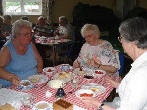 St BOTOLPHS SERVING CREAM TEAS DURING SUMMER MONTHS